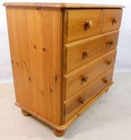 Victorian Style Small Pine Chest of Drawers - SOLD